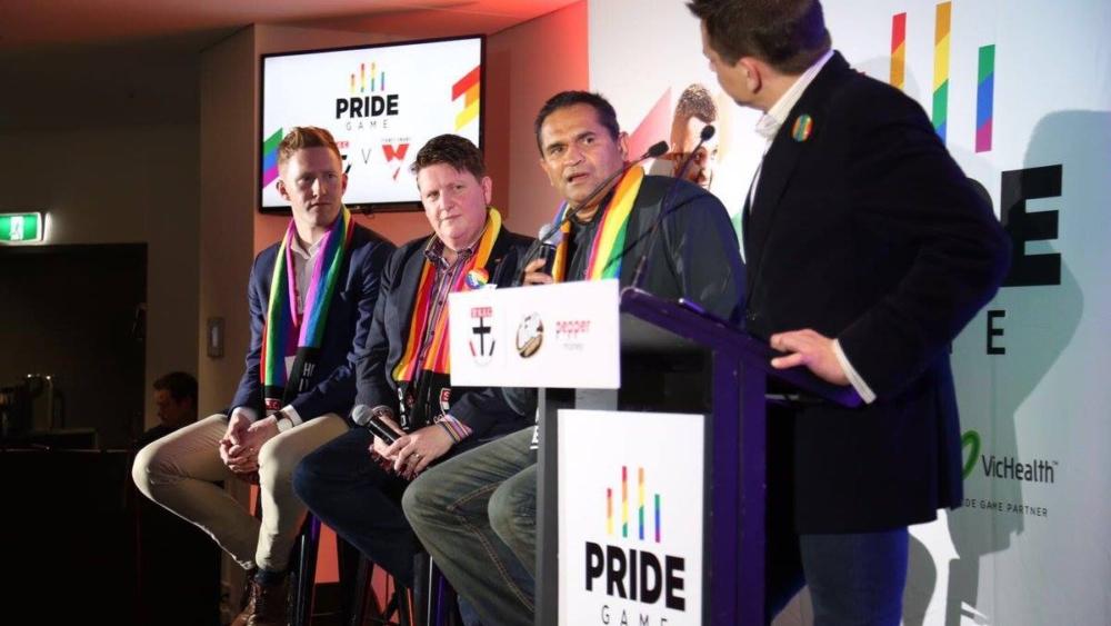 Panel at AFL gay pride 13.8.16