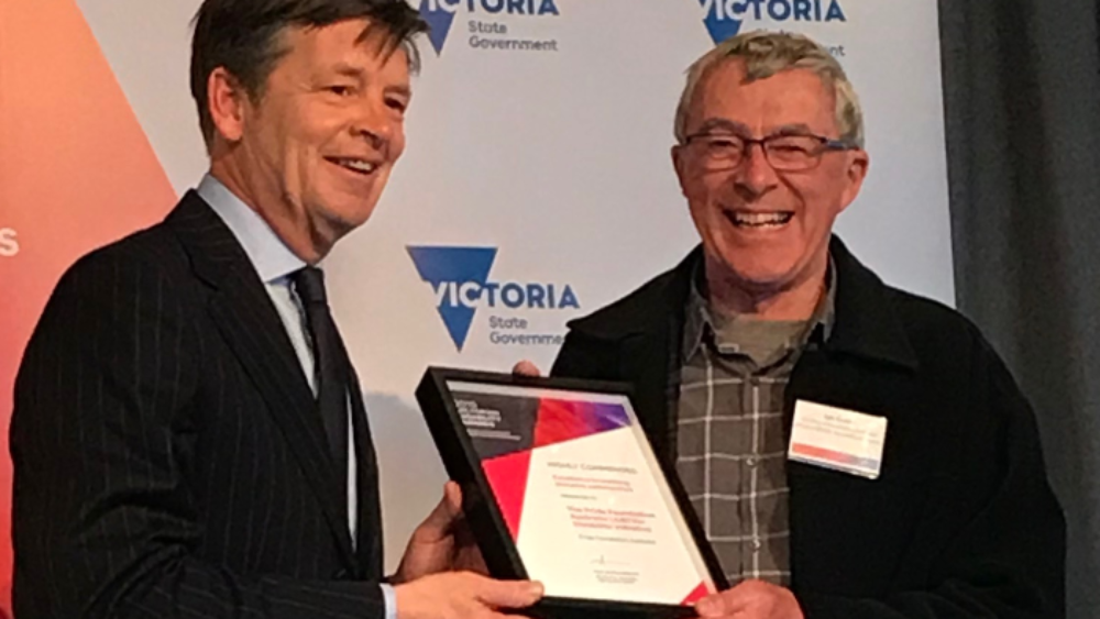 Ian-at-Victorian-Disability-Awards
